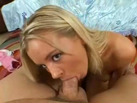 Blonde suck cocks