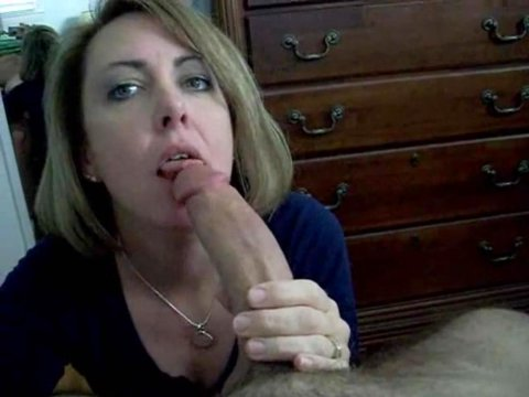 Dick sucking Real milf