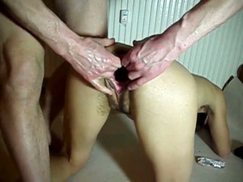 amateur Extreme pussy fisting