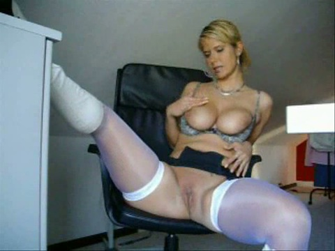 White stockings porn