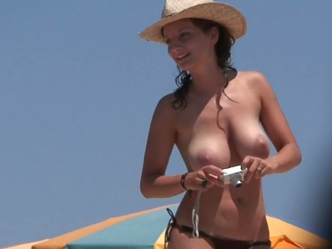 Large beach tits