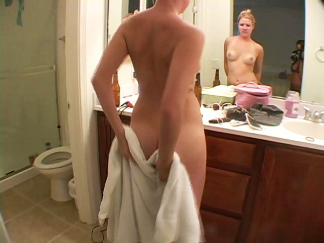Girlfriend naked in shower really
